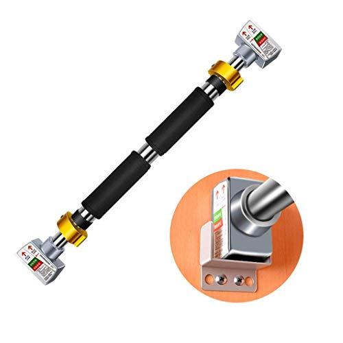 JY&WIN Tragbare InstallationTür-Klimmzugstange Horizontale Stange, drehbare Länge der Anhängerkupplung, perfekt für Heimgymnastikübungen, tragend 200 kg, 74-95 cm