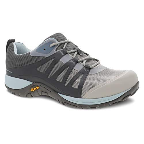 Dansko Women's Phylicia Grey Waterproof Hiking Shoes 7.5-8 M US Trail Sneaker