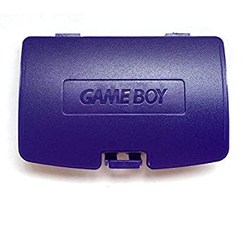 Replacement Battery Back Cover Case Door Lid for Gameboy Color GBC Game Boy Colour - Purple