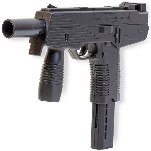 Rayline Pistole Waffen Federdruck Softair Plastic Kugel Erbsenpistole M30 +1000 BB 6 mm Muniton
