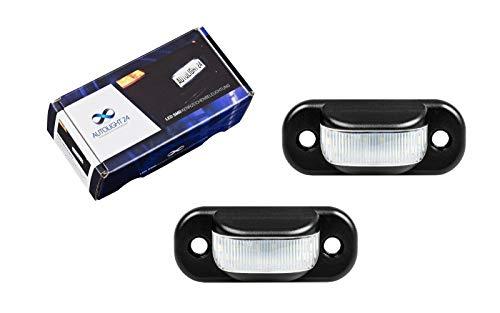 2 x Premium LED Kennzeichenbeleuchtung 80 8C B4 8G7 100 A6 C4 A4 C4 KB41