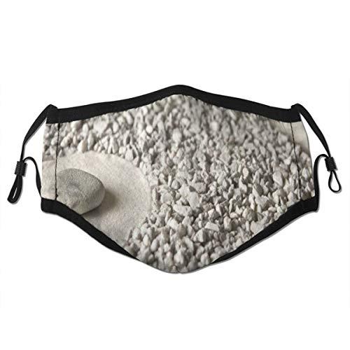 BROWCIN Tai Chi Karte aus Sandstein Staubwaschbarer wiederverwendbarer Filter und wiederverwendbarer Mund Warmes winddichtes Baumwollgesicht
