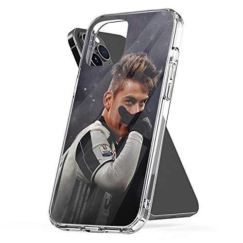 Paulo Dybala 3 Compatibile con Custodie per Telefoni Cover iPhone 12/11 Pro Max 12 mini SE X/XS Max XR 8 7 6 6s Plus Custodie