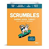 Scrumbles Natural Wet Dog Food, Grain Free Recipe with 70% Turkey and Slippery Elm, Multipack of 10 x 395g