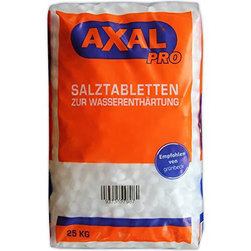 Axal Pro 25kg Salztabletten Regeneriersalz zur Wasserenthärtung