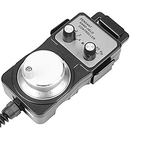 MaylFre Herramienta electrónica del Pulso del Volante Generador Colgante Volante 5V CNC de la máquina con el Regalo del Día de la Base del sostenedor Negro Precioso Padre