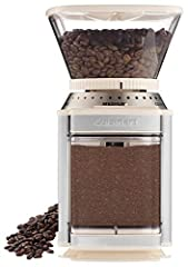 Removable grind chamber holds enough ground coffee for 32 cups. Dimensions : 6.00 L x 7.13 W x 10.75 H inches. Cord length : 34 Inches 4 to 18-cup slide dial Scoop/Cleaning Brush is included 18-position grind selector; 4- to 18-cup slide dial