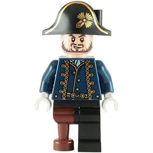 LEGO Pirati Dei Caraibi: Hector Barbossa Pegleg Minifigura