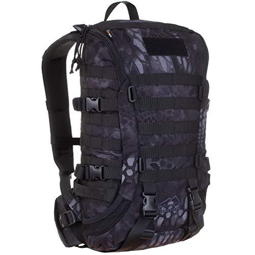 Wisport Zaino + Ultrapower Tube Cloth | Zaino Outdoor-Backpack | Zaino da Trekking | Sport | Avventura | Escursioni | Cordura | Zipperfox 25 L, Camuffamento: Kryptek Typhon