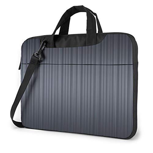 Laptop-Tasche für Theater, Kino, Vorhang mit Streifen, personalisierbar Schwarz Schwarz  39,6 cm