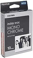 FUJIFILM インスタントカメラ チェキワイド用フィルム 10枚入 モノクロ INSTAX WIDE MONOCHROME WW 1