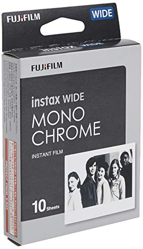 Fujifilm Instax Wide Monochrome - 10 impresiones