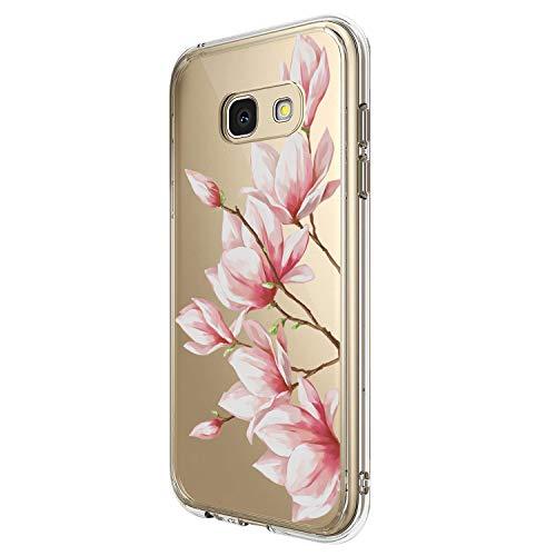 Kompatibel Mit Samsung Galaxy A5 2017 Hülle Kristall Handyhülle Silikon Weiche Clear Schutzhülle Transparent Flexibel Silikon Case Handy Schutz Hülle für Samsung Galaxy A5 2017 (1)