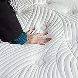 Sweetnight Matratze 140x200 h3 Federkernmatratze Orthopädisch punktelastische Matratze Gel Härtegrad 3 Höhe 25cm ( 140 x 200 x 25 cm ) - 5