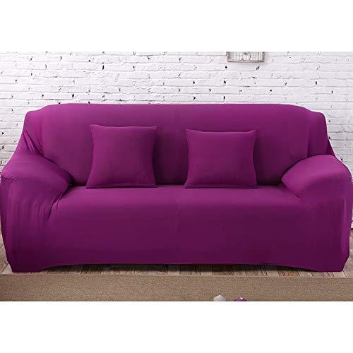 Fundas Lisas de patrón sólido Funda de sofá Fundas de sofá elásticas para Sala de Estar Funda de sofá Toalla de sofá Silla Sofá Cove A15 1 Plaza