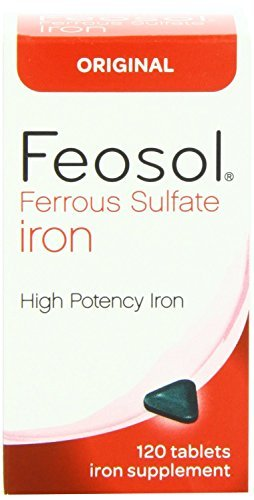 Feosol Original Vitamins, 120 Count (Pack of 2) by Feosol