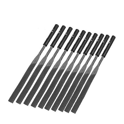 X-DREE 7.1' 'Länge Holzbearbeitungswerkzeug Metallschaft Checkering Feilen 10 Stück (e4eb3857ab8f9bd40962847847ba0daa)