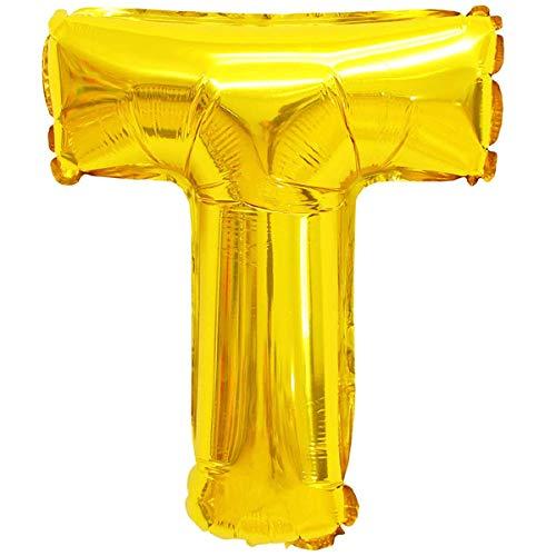 XXL LUFTBALLONS folieballonnen heliumballonnen letters & cijfers & tekens in goud; zilver - 80cm grote feestdecoratie voor verjaardag bruiloft feest