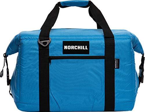 NorChill 4014560 Voyager Series 24 Can Soft Side Cooler Bag- Red, Blue & Black Available