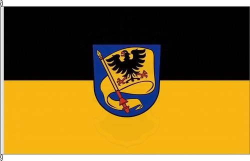 Königsbanner Autoflagge Ludwigsburg - 30 x 45cm - Flagge und Fahne