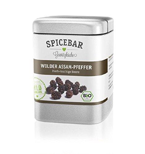 Spicebar Wilder Assam-Pfeffer in Bio Qualität (1 x 70g)