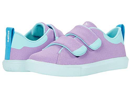 Native Kids Shoes Girl's Monaco CT Canvas (Little Kid) Lavender Purple/Hydrangea Blue 12 Little Kid M