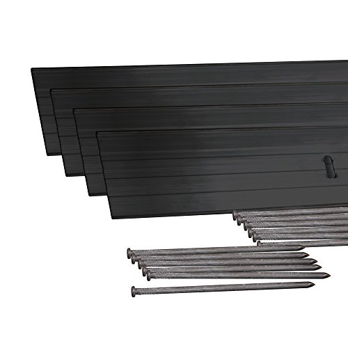 Dimex EasyFlex Aluminum Landscape Edging Project Kit, Will Not Rust Like Steel, Black (1806BK-24C)