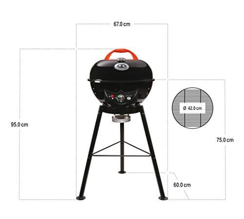 Outdoorchef CITY 420 G schwarz BBQ Gasgrill Kugelgrill - 5
