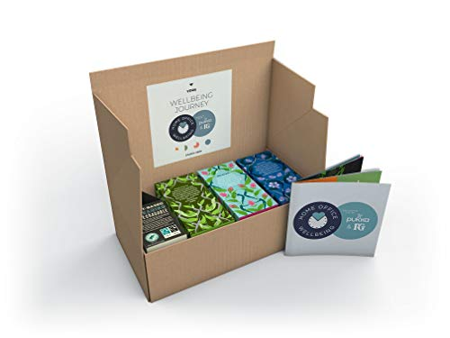 Tea Selection Gift Box, Home Office Wellbeing Gift Or Present, 80 Tea Bags for Every Tea Break, Including PG Tips Plus Immunity, Pukka Herbs - Supreme Matcha, Mint Refresh, Night Time (20 TB Each)