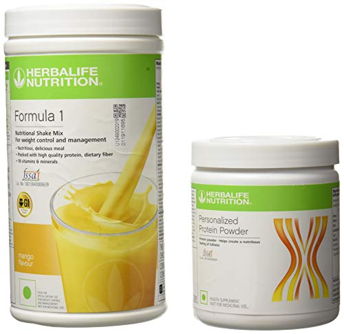 Herbalife Formula 1 Shake 500 g Weight Loss - Mango + Protein Powder 200 g