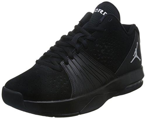 Nike Mens Jordan 5 AM Black White Nubuck Leather Trainers 10.5 US