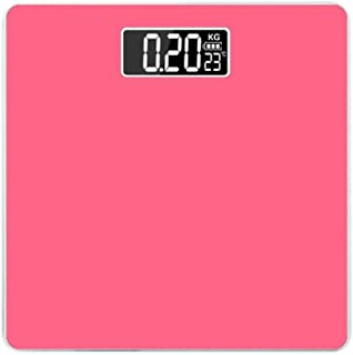 CS-YZC Human Scale Electronic Weight Health Scale 180Kg Luminous Thermometer Home Body Scales Weight Scale durable scales for body weight (Color : -)