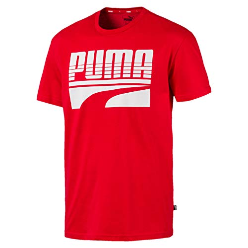 PUMA Rebel Bold T-Shirt Homme High Risk Red FR : L (Taille Fabricant : L)