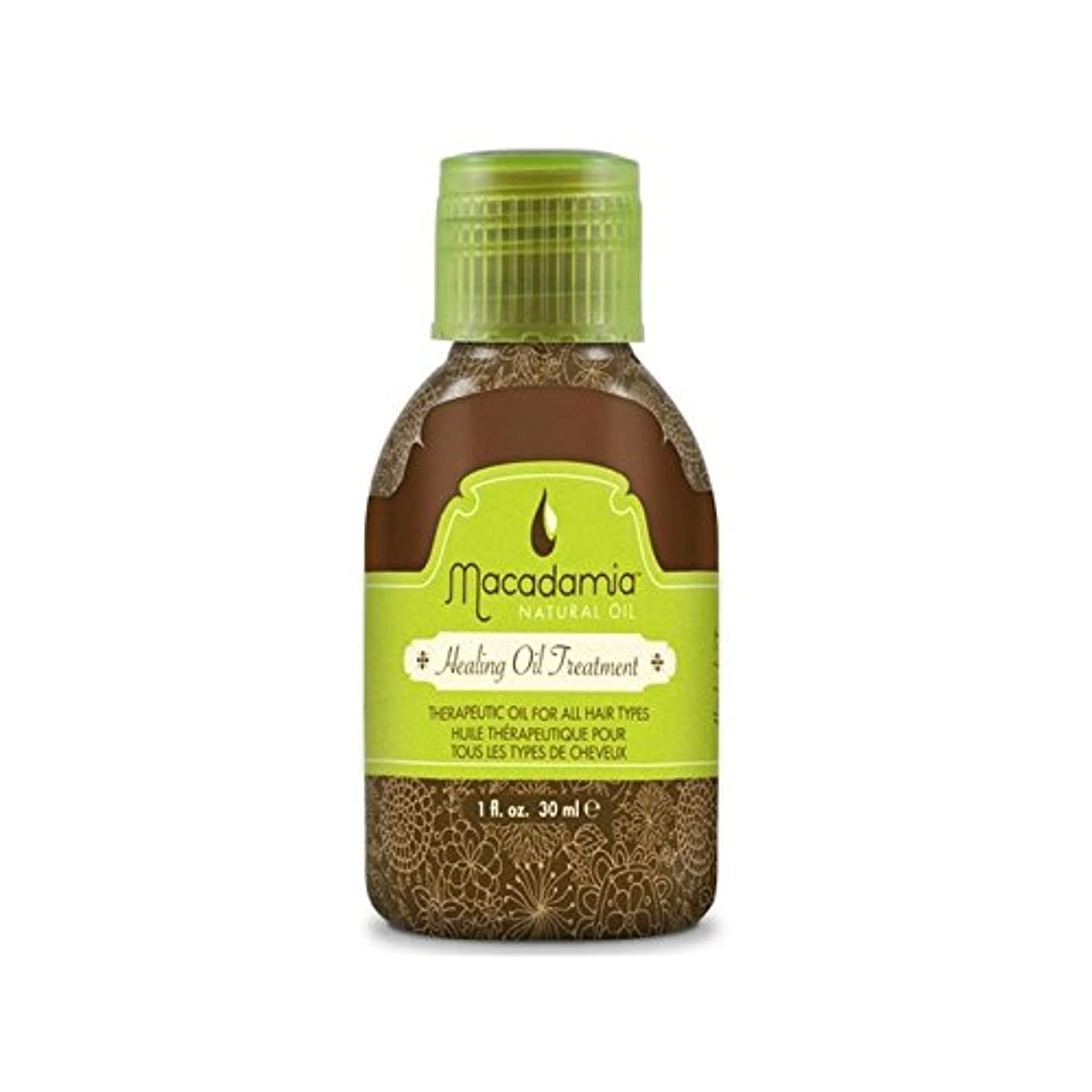 陰謀符号シニスMacadamia Natural Oil Healing Oil Treatment (30ml) - マカダミアナチュラルオイルヒーリングオイルトリートメント(30ミリリットル) [並行輸入品]