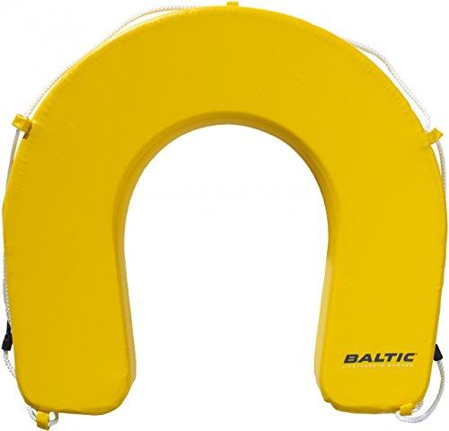 Baltic Hufeisen Rettungsring, Farbe:gelb, Größe:Standard