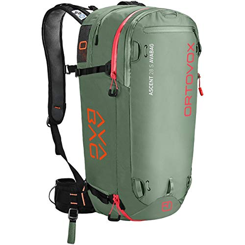Ortovox Ascent 28 S Avabag Sac à Dos Mixte, Green Isar,...