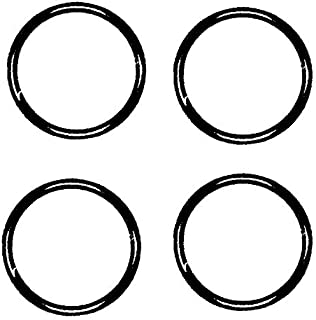 O-Ring Sealing Gasket/Washer Seal for Plumbing, Automotive, General Repair. Pack of 4 pcs - By PlumbUSA (Size: 1-1/4