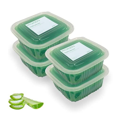 KOKEN - Parafina de ALOE VERA 2000 ml - 1400 gr. Parafina para tratamiento hidratante de manos y pies.