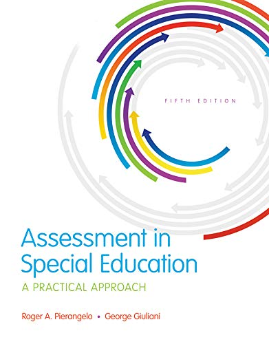 Assessment in Special Education: A Practical Approach (2-downloads) (What's New in Special Education