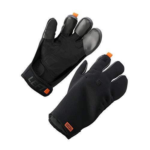 ドッペルギャンガー(DOPPELGANGER) バイク用オーバーグローブ【ウエットスーツ素材で冷風をブロック】 今使っているグローブに重ねる防寒対策 DGL602-BK, ブラック フリー