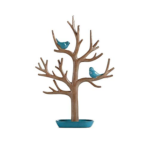 NAFE - Estante de joyería Creativo para decoración del hogar, Sala de Estar, recámara, Llavero, joyero para el hogar, Regalo, Vidrio, A, Size