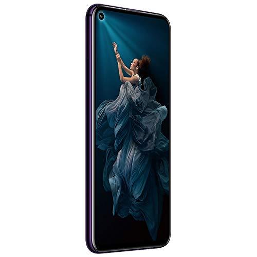Honor 20 Pro - Smartphone Débloqué 4G - (Ecran : 6,26 Pouces - 8Go RAM - 256Go ROM - Double Nano SIM - Android P) Phantom Black-Purple [Version Française]