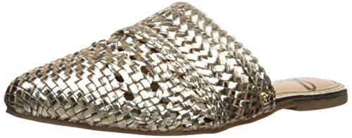 Sam Edelman Women's Natalya Mule, Molten Gold Metallic Leather, 8.5 M US