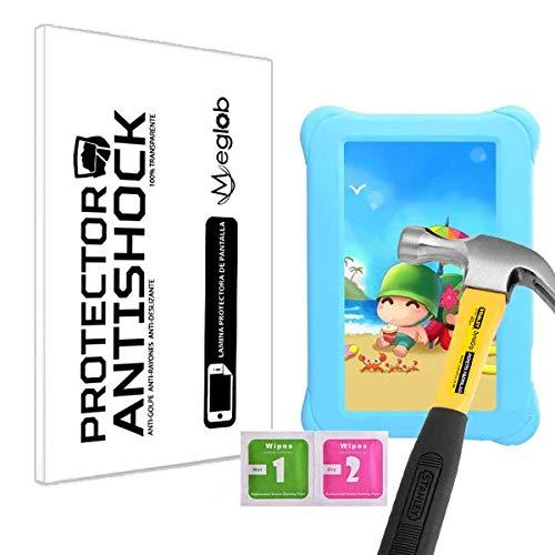Protector de Pantalla Anti-Shock Anti-Golpe Anti-arañazos Compatible con Tablet Alldaymall 7 Kids