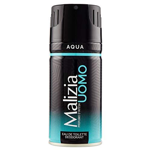 MALIZIA Deo Spray Männer Aquamarin ML150–[Pack 6]