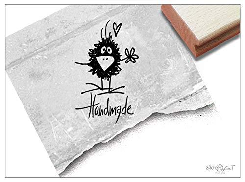 ZACHR-fineT Stempel, handgemaakt met naam - letterstempel, kaarten, cadeaulabels, etiketten om zelf cadeau te versieren