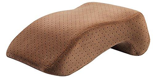 BOZEVON Büro Schreibtisch Nap Schlafkissen, Memory Foam Kissen mit abnehmbarem Bezug, Schlafarm Unter Kissen Kissen für Bequeme Bequeme Siesta Mokka