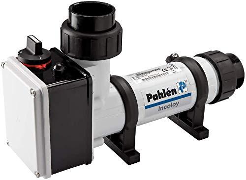 well2wellness® Pahlen Elektroheizer 3kW aus Kunststoff mit Heizstab aus Incoloy Nickel Chrom Legierung