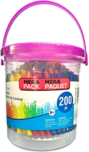 Crayons For Kids with Mega Bucket by Creatology, 200 Count
