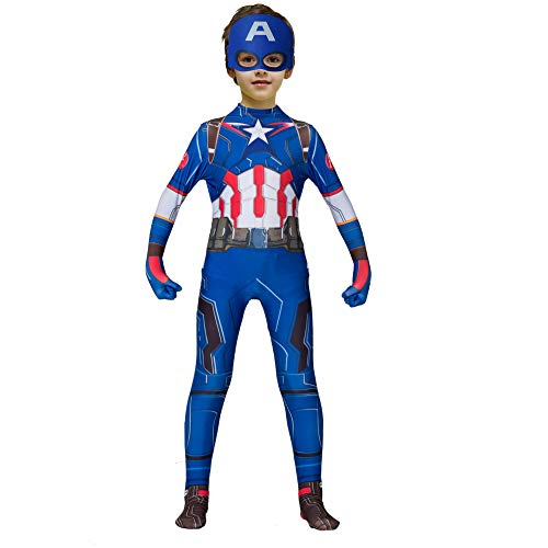 Halloween Superhero Bodysuit Cosplay Costumes for Kids(MGDZ,110)